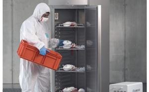 Une armoire de stérilisation au plasma pour la désinfection des vêtements et des masques