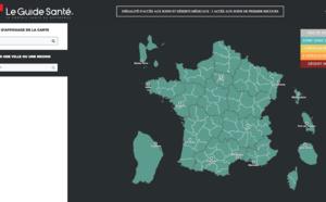 Une carte interactive pour visualiser les déserts médicaux