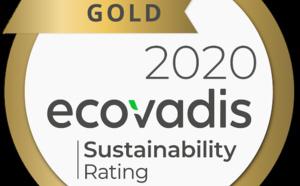 Les pratiques responsables de PAREDES certifiées OR pour la deuxième année consécutive par EcoVadis