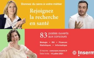 Recrutement: l'Inserm lance sa campagne 2021