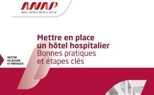 Hôtels hospitaliers : l'ANAP diffuse un guide de bonnes pratiques