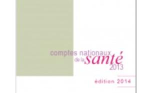 Publication des Comptes Nationaux de la Santé 2013 (DREES)