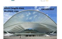 7-9 septembre : rendez-vous à Liège pour le XXVIIIème Congrès de l'ALASS