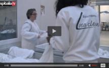 3 ans de partenariat entre la blanchisserie Losaclean de La Rochelle et Kannegiesser