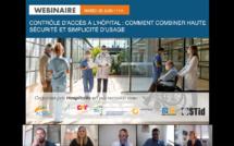 Replay Webinaire : Contrôle d'accès à l'hôpital, comment combiner haute sécurité et simplicité d'usage ?